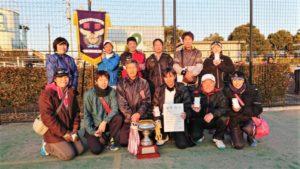 平成29年度 立川市地区対抗戦 第1位:富士見町体育会