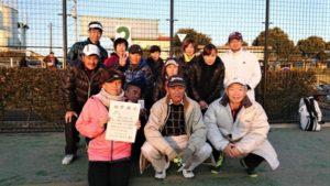 平成29年度 立川市地区対抗戦 第3位:若葉町体育会
