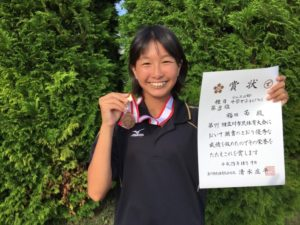 2017立川市市民大会中学女子シングルス3位・福田さん