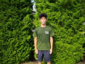 2017立川市市民大会男子シングルスA3位・川瀬さん