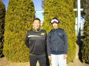 第33回 立川オープンダブルス大会 第3位 金生・角田ペア