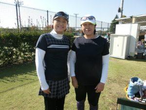 第32回 立川レディース 3位 高田・中川ペア
