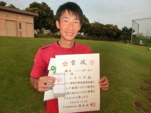 2018立川市市民大会男子シングルスA準優勝・上田さん