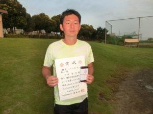 2018立川市市民大会男子シングルスA3位・渡辺さん