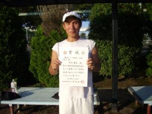 2018立川市市民大会男子シングルスB準優勝・木村さん