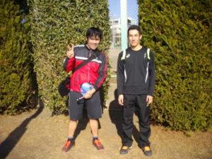 第34回 立川オープンダブルス大会 第1位 千嶋・志田ペア
