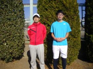 第34回 立川オープンダブルス大会 第2位 古川・鈴木ペア