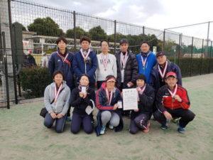 平成30年度 立川市地区対抗戦 第3位:富士見町体育会